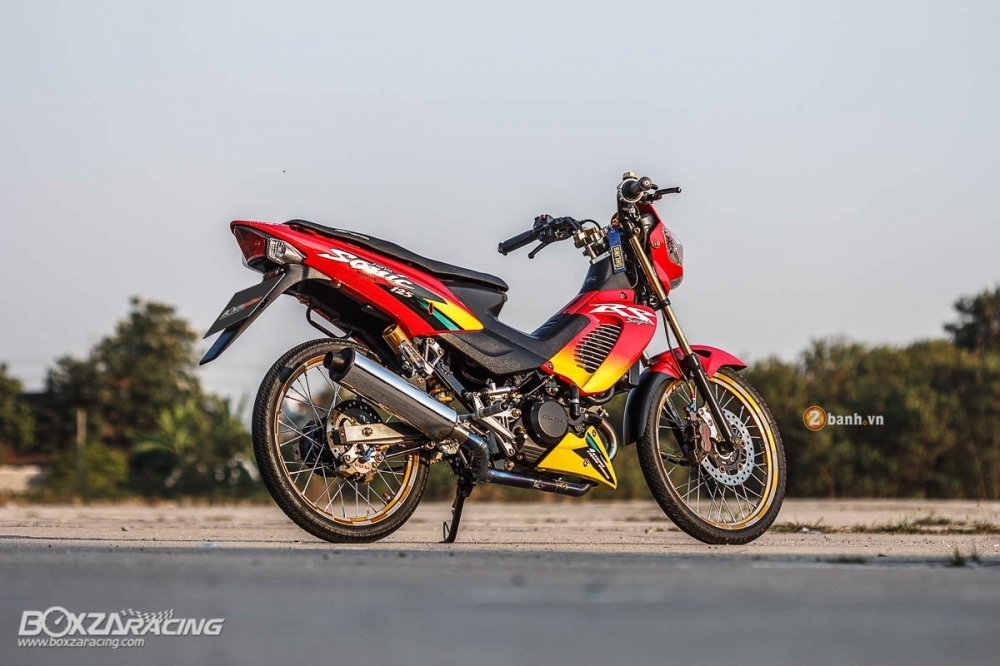 Honda Sonic do day an tuong voi dan do choi cuc chat - 14