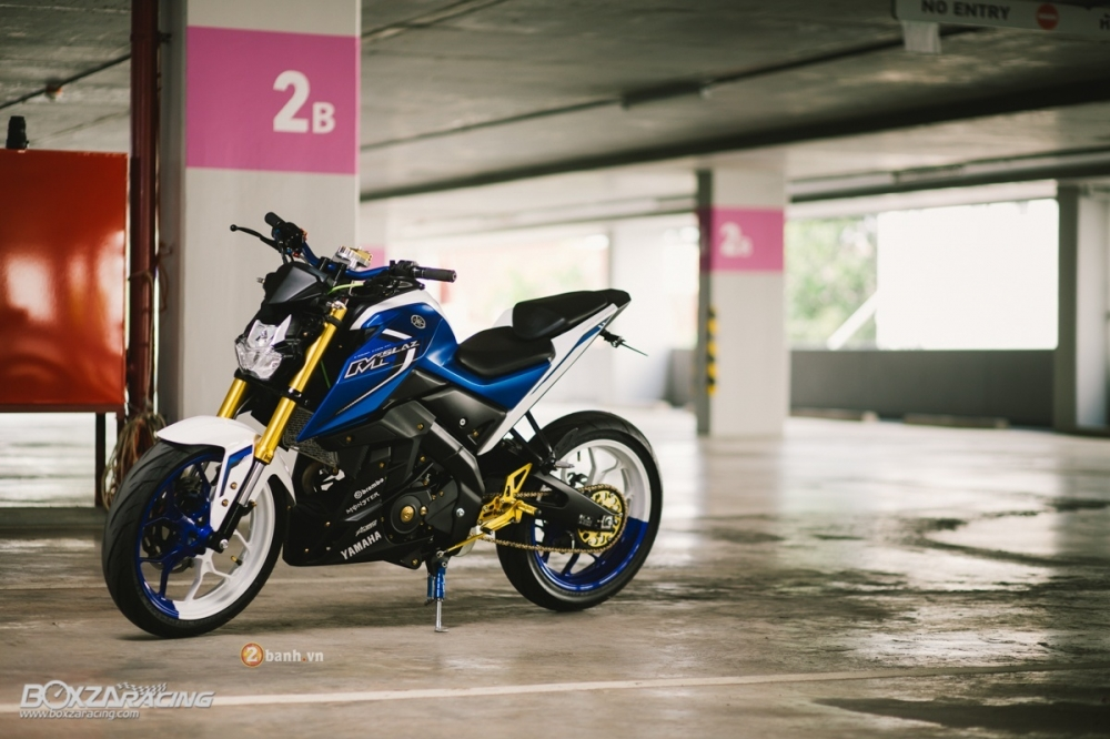 Yamaha MSlaz do an tuong voi phien ban Blue Machine - 3