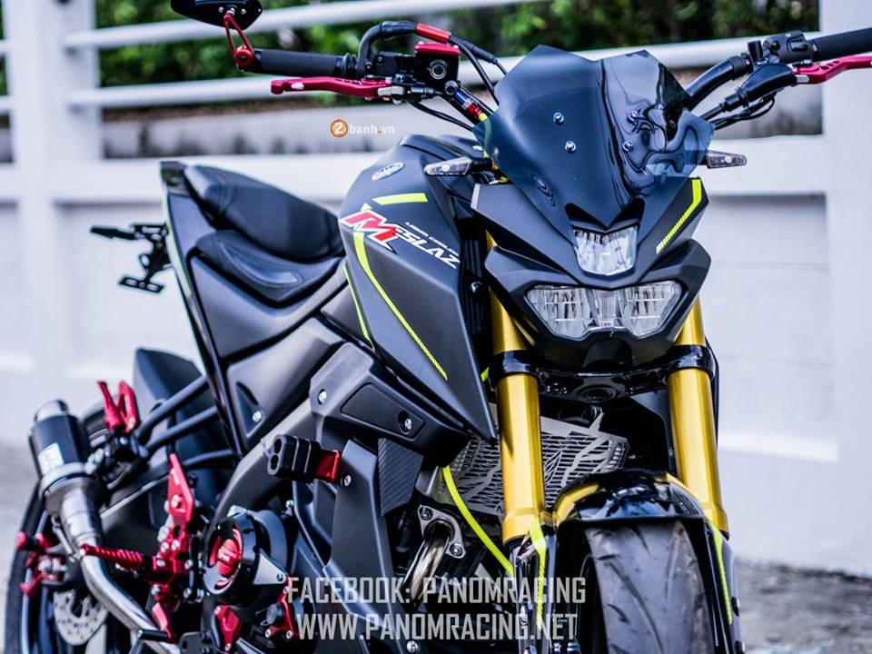Yamaha MSlaz do day ca tinh cua Panom Racing
