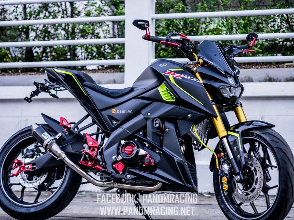 Yamaha MSlaz do day ca tinh cua Panom Racing - 9