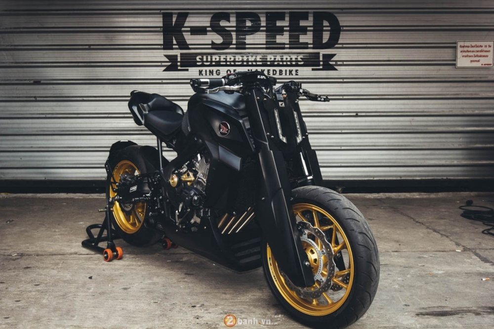 CB650F manh me trong ban do Street Fighter