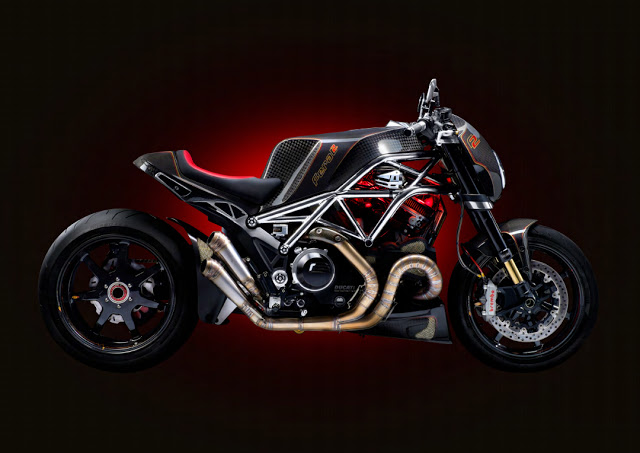 Diavel do full carbon voi ten goi The Ferat II