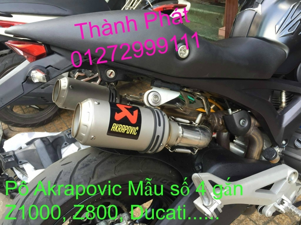 Po do Po kieu Co po 7 khuc AHM Akrapovic Yoshimura SC Project 2 Brother MIVV YYPANG Leov - 7