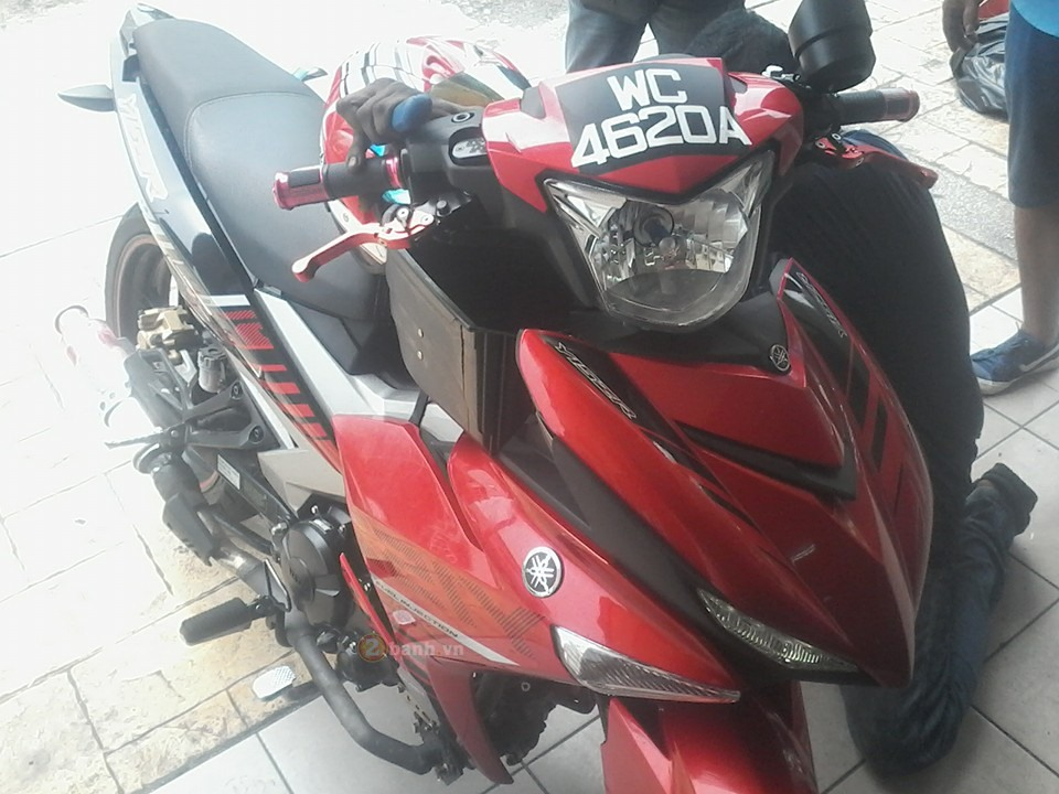Exciter 150 do he thong Turbo cua biker nuoc ban
