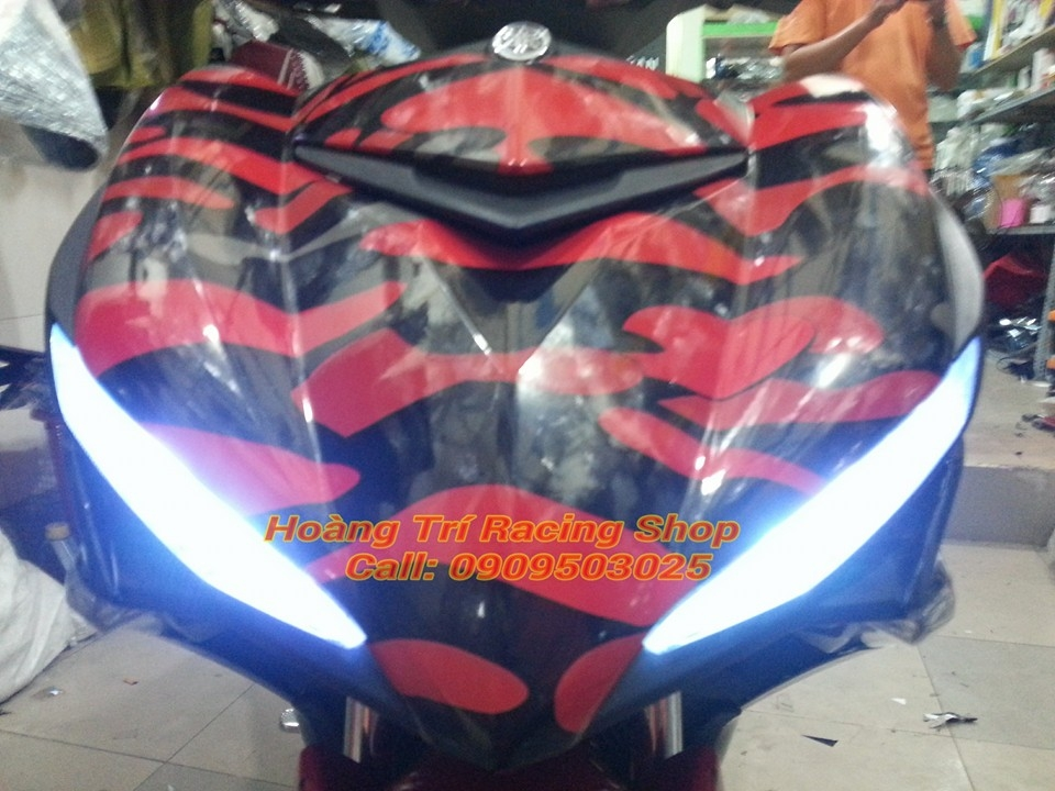 Exciter 150 do theo phong cach Camo - 6
