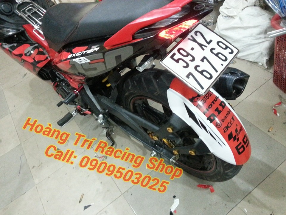 Exciter 150 do theo phong cach Camo - 8