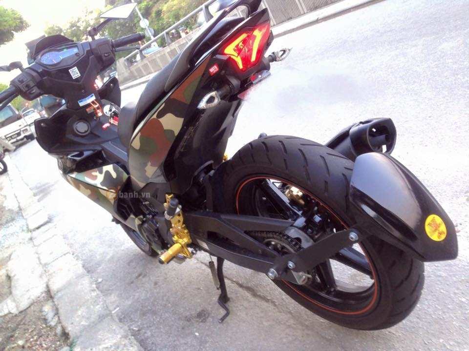 Exciter 150 do theo phong cach Linh My cua biker nuoc ban - 3