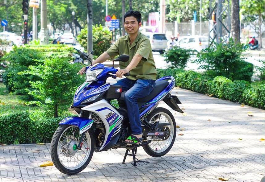 Exciter GP 135 Don Gian Nhung Day Phong Cach - 12