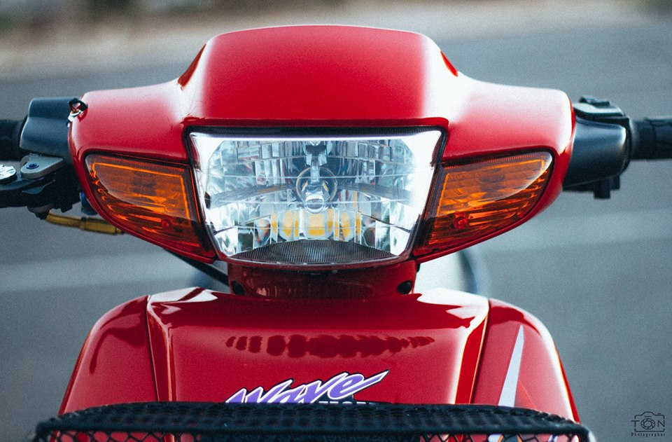 Full bo anh tinh te ve chiec Honda Wave S 110 phien ban Red Candy - 17