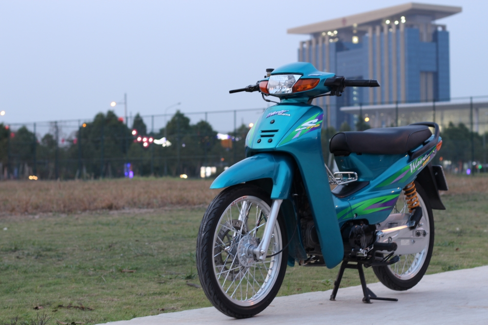 full bo anh ve chiec wave S 110 blue - 11