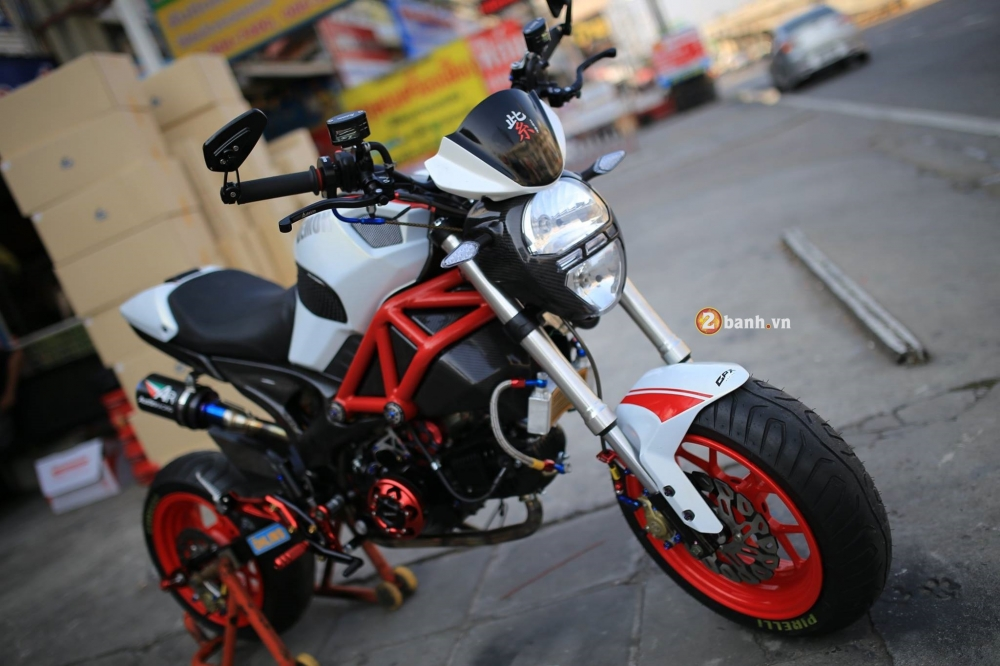 GPX Demon 125 do day phong cach cung dan do choi noi bat - 2