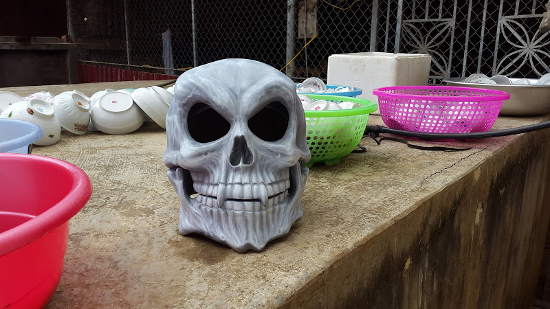 Helmet skull design by airbrushviet nam - 3