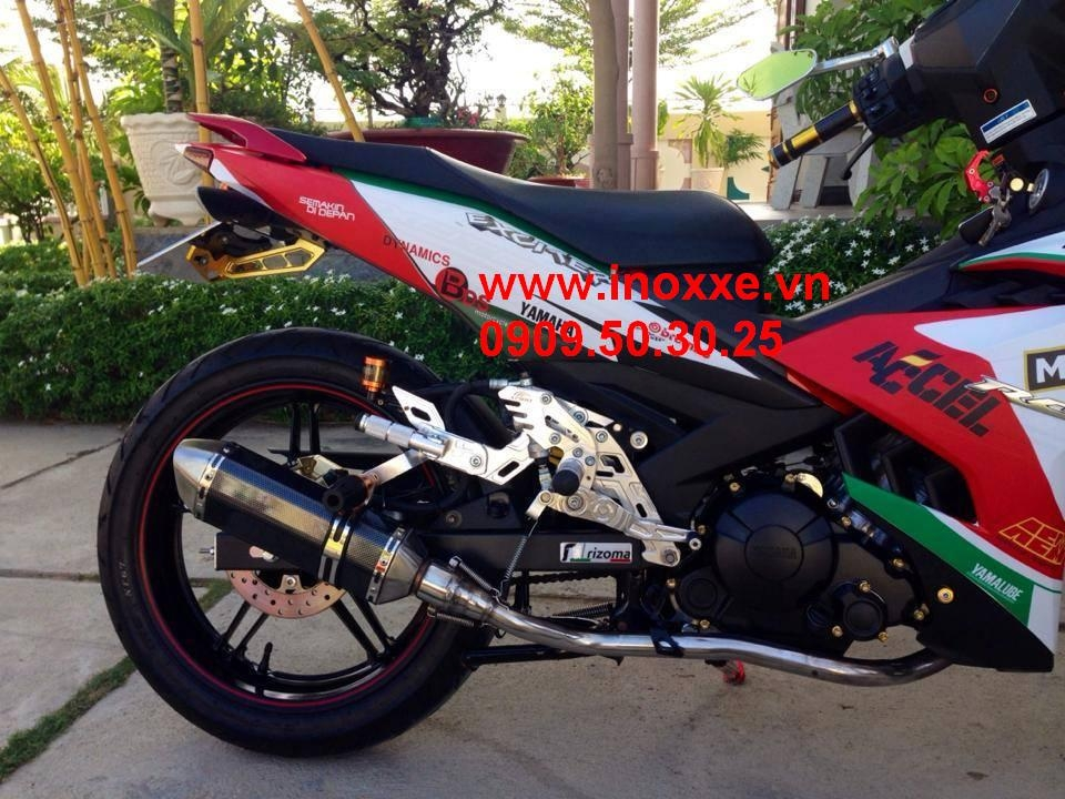 Hoang Tri Shop So gay Apido Mo cay de bang so FZs cho Exciter 150 - 3