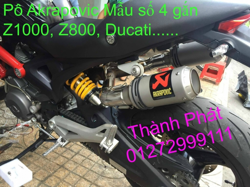 Po do Po kieu Co po 7 khuc AHM Akrapovic Yoshimura SC Project 2 Brother MIVV YYPANG Leov - 8