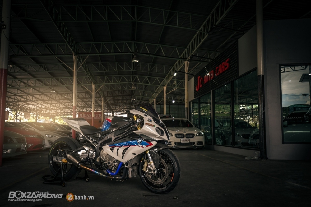 Sieu ca map BMW S1000RR do phong cach Dragbike