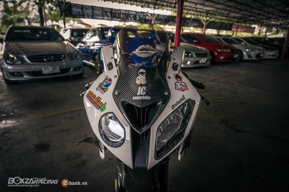 Sieu ca map BMW S1000RR do phong cach Dragbike - 5