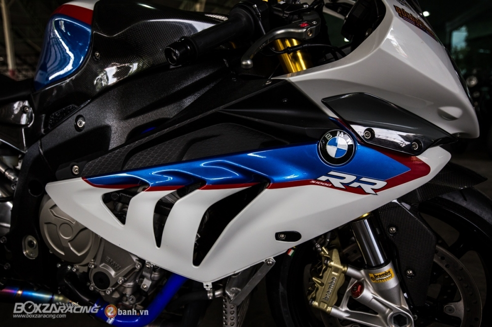 Sieu ca map BMW S1000RR do phong cach Dragbike - 11