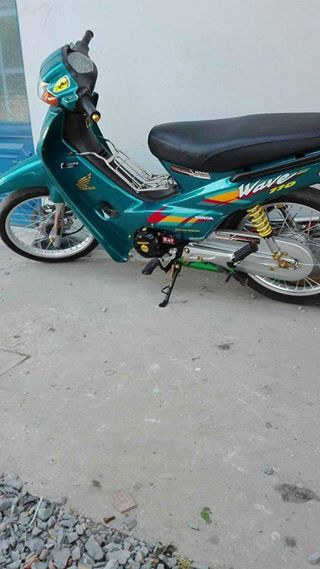Wave 50cc duoc don lai leng keng voi bo may 110 manh me - 7
