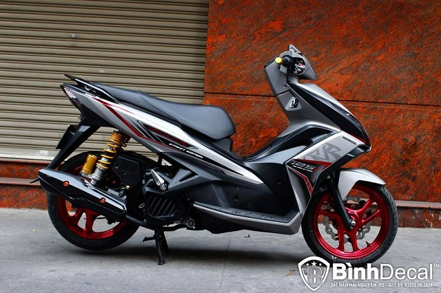 Air Blade 125 do chat lu cua dan choi Viet
