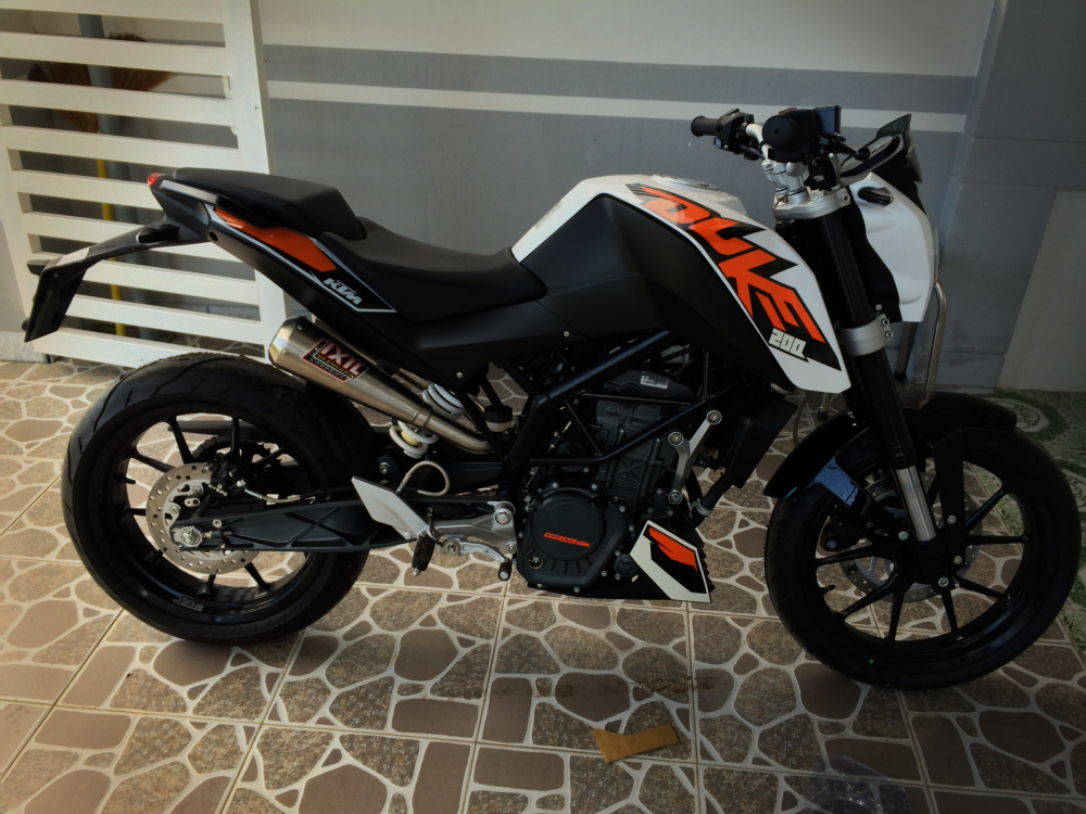 Ban gap KTM duke 200 no ABS gia re - 4