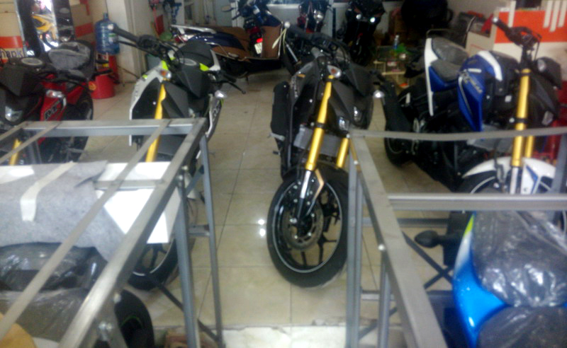 Ban Yamaha MT15 MSlazz hang Thai Land lai ve motomaluc - 3