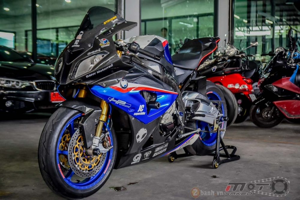 BMW S1000RR hoan hao trong phien ban do Super OHM