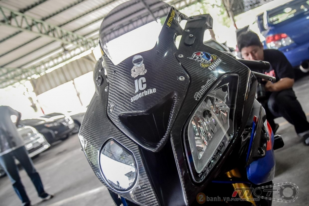 BMW S1000RR hoan hao trong phien ban do Super OHM - 3