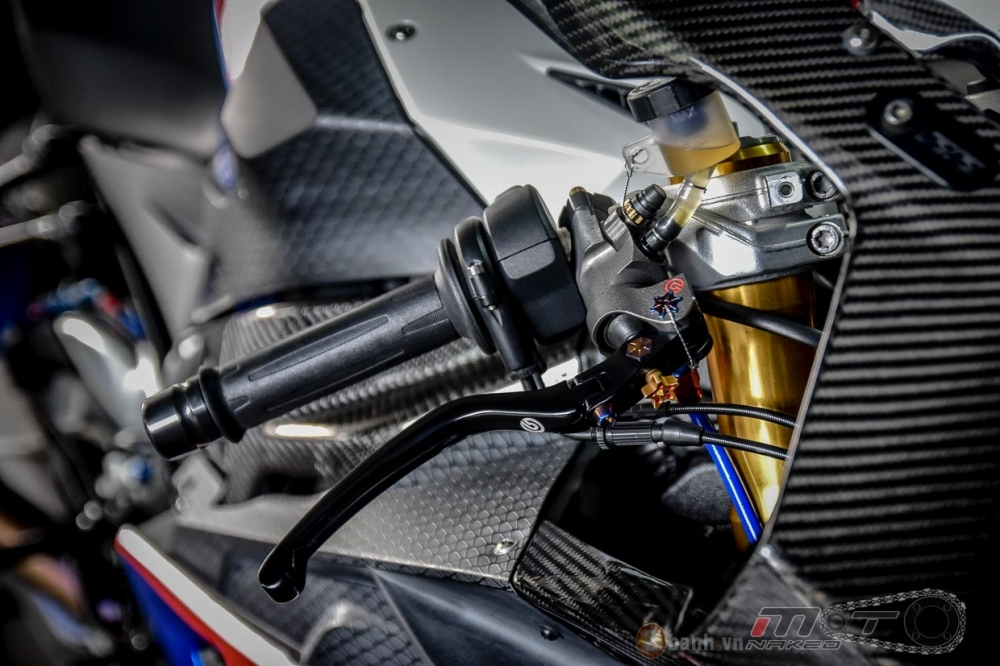 BMW S1000RR hoan hao trong phien ban do Super OHM - 5