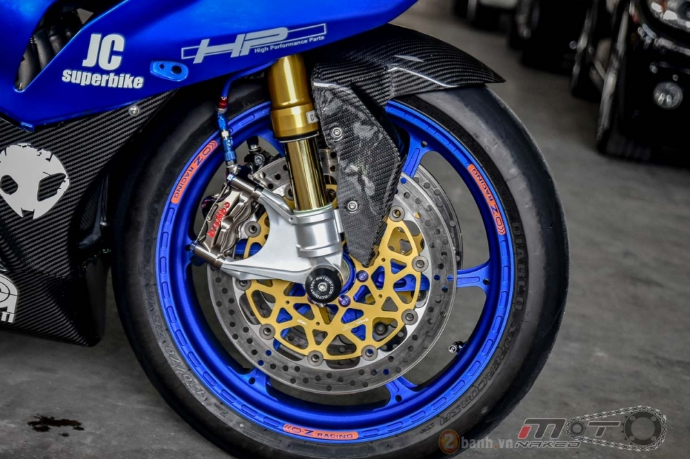 BMW S1000RR hoan hao trong phien ban do Super OHM - 9