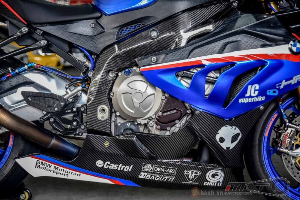 BMW S1000RR hoan hao trong phien ban do Super OHM - 23
