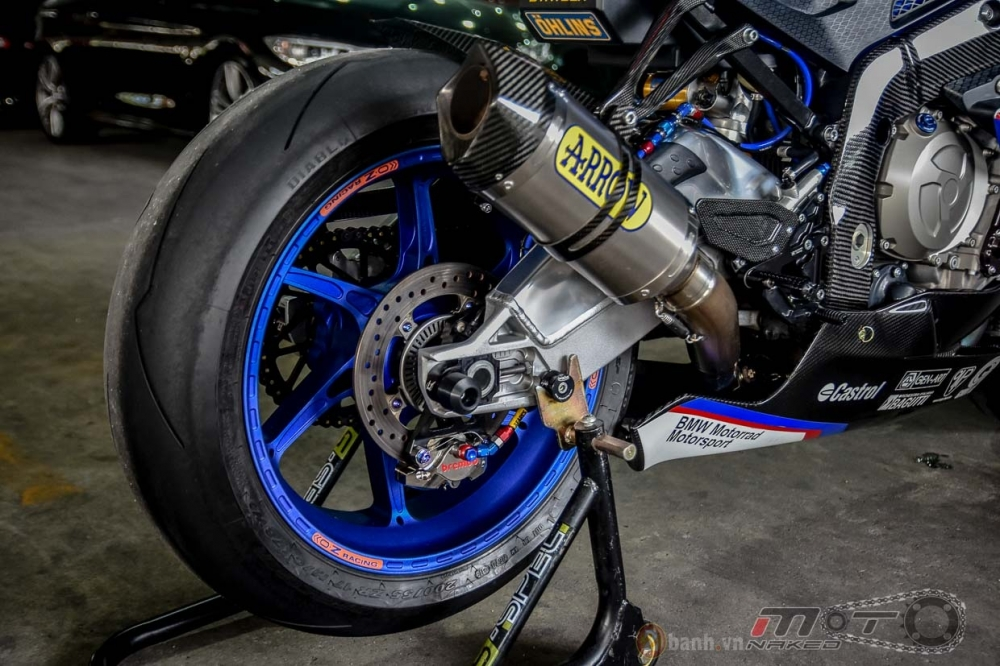 BMW S1000RR hoan hao trong phien ban do Super OHM - 25