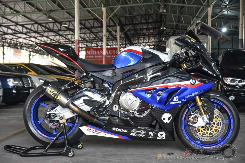 BMW S1000RR hoan hao trong phien ban do Super OHM - 27