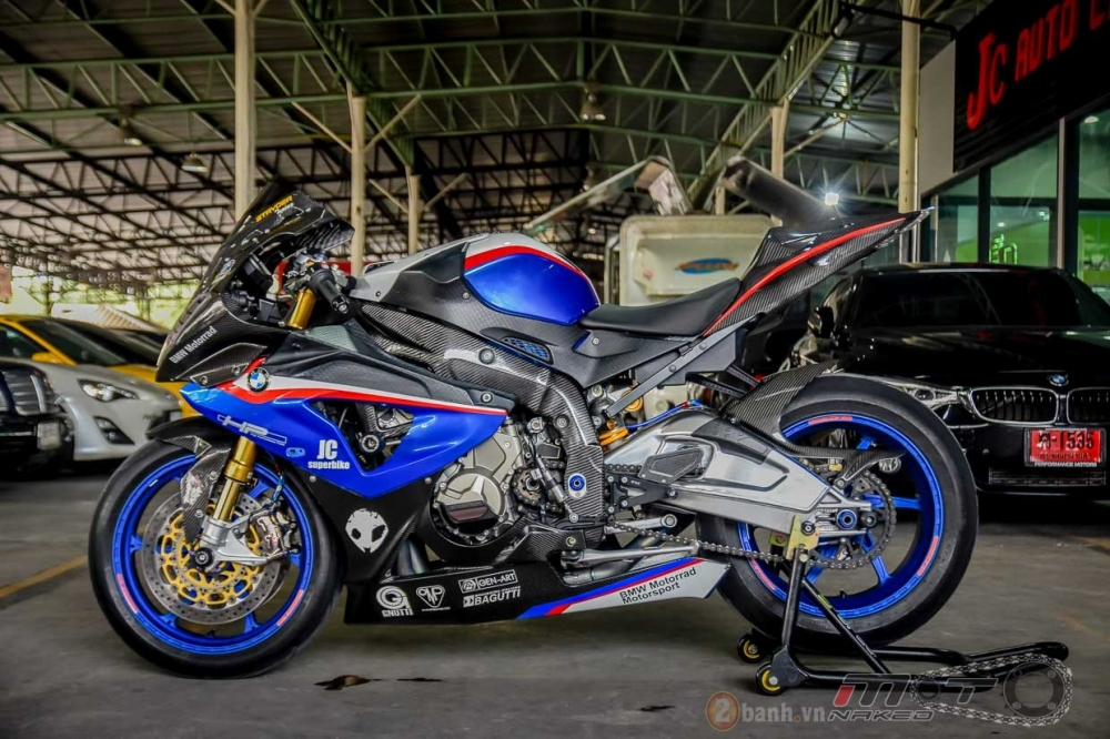 BMW S1000RR hoan hao trong phien ban do Super OHM - 29