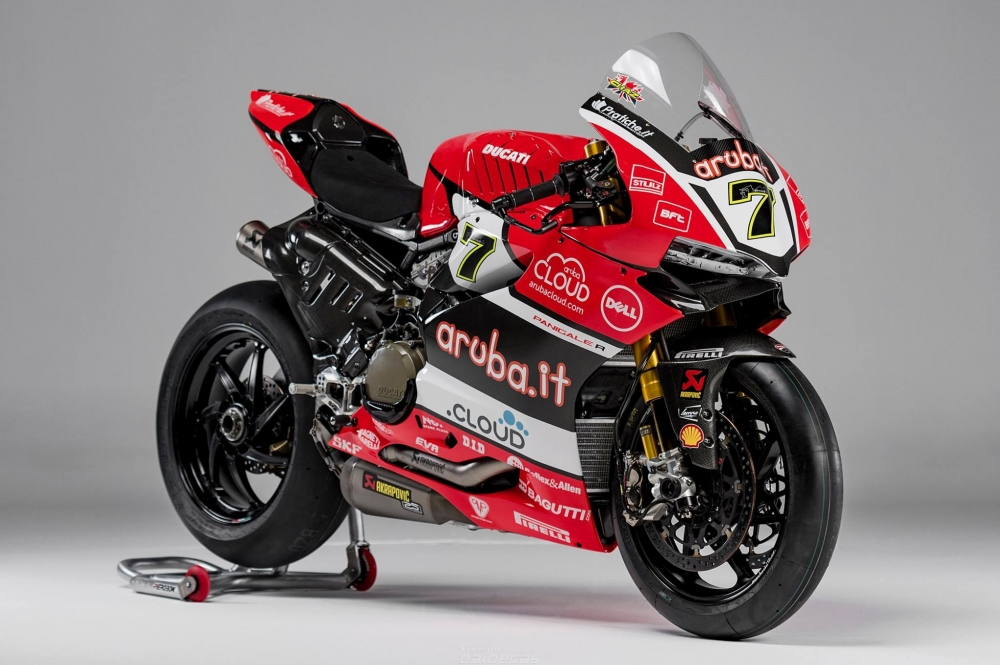 Can canh chi tiet 1199 R Panigale cua Aruba Team - 3