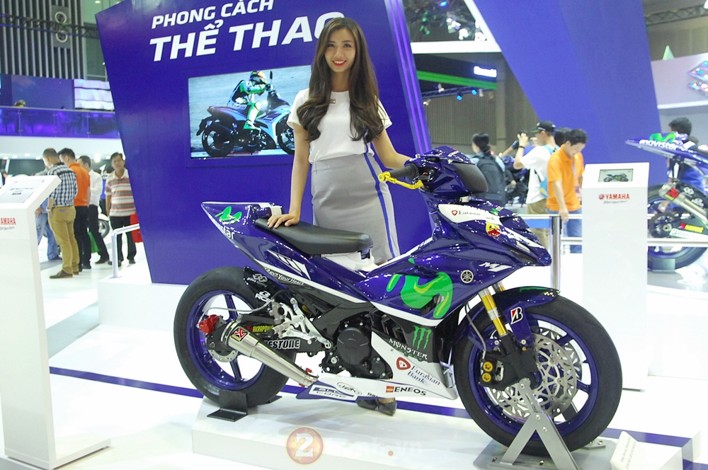 Can canh Exciter 150 Movistar do khung tai VMCS 2016