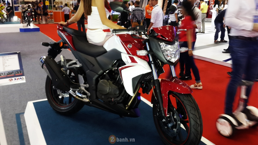 Can canh SYM Wolf T3 mau nakedbike hien dai va the thao - 2
