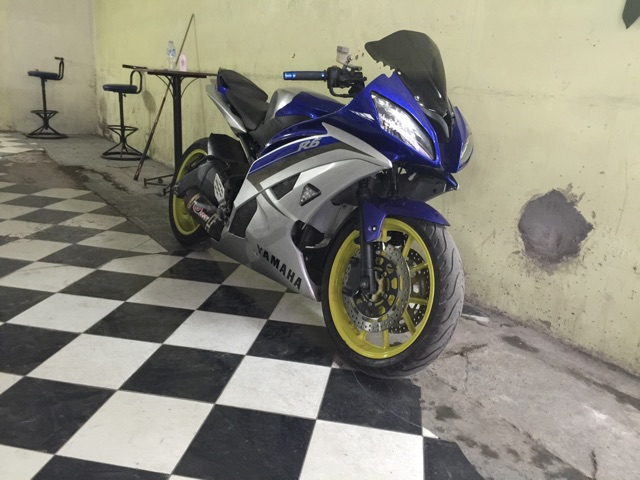 Can canh Yamaha R15 do dan ao R6 cuc ngau - 3