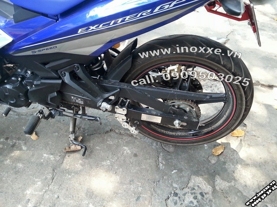 Do choi Exciter 150 Tang sen tu dong Racing Boy Sen vang DID - 6