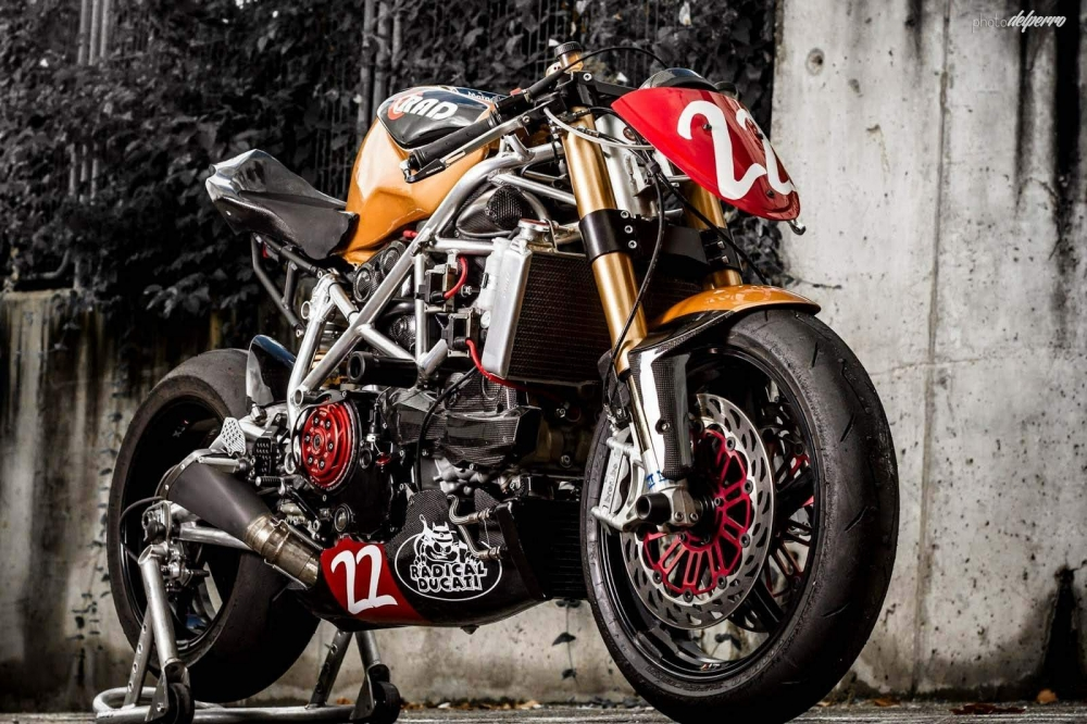 Ducati 1198 do phong cach Cafe Racer cuc chat - 5