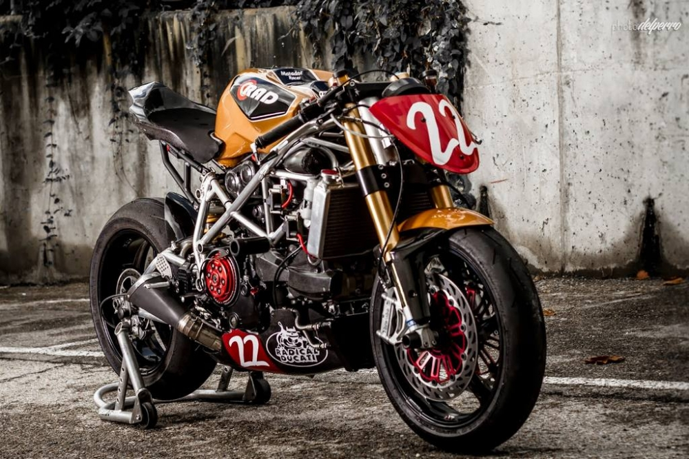 Ducati 1198 do phong cach Cafe Racer cuc chat - 7