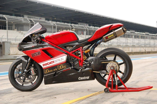 Ducati 1198R voi ban do mang ten 1260R
