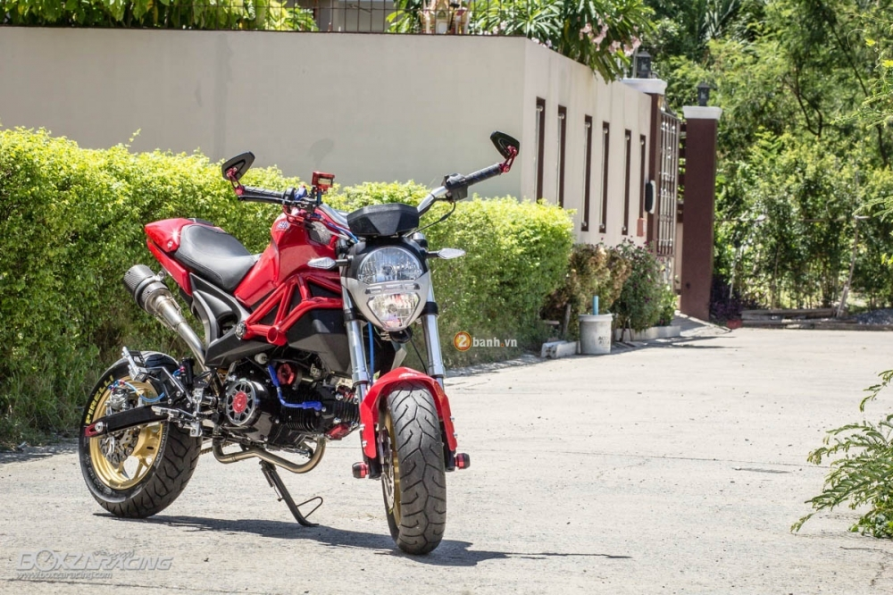 GPX Demon 125 do noi bat va ca tinh cua biker Thai Lan