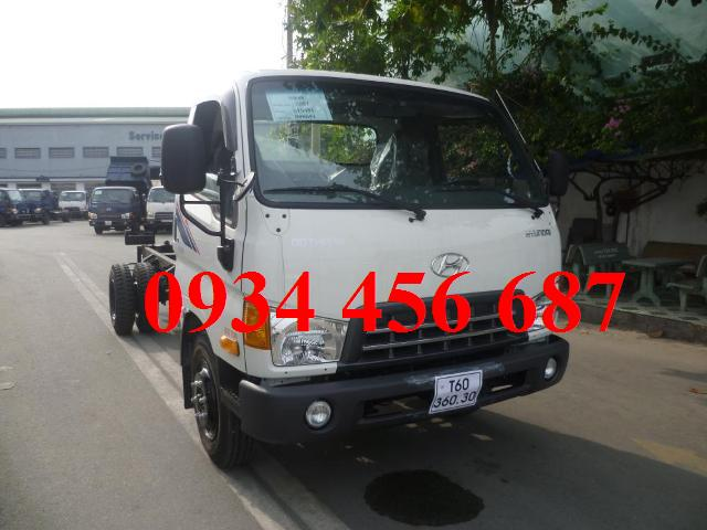 Hyundai HD99 model 2016 dong thung cho lon 5 tan