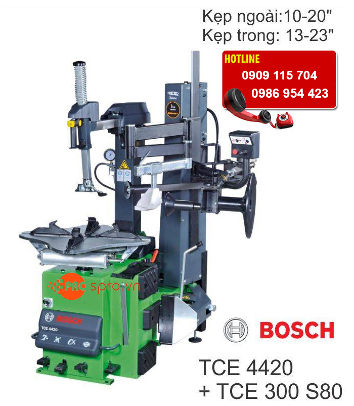 May mo vo xe o to du lich cua Duc BOSCH TCE4420 TCE300