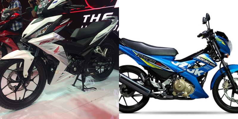 So sanh Honda Winner 150 vs Raider 150