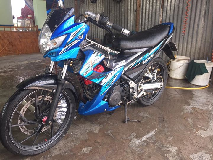 Suzuki raider thai do full satria F150