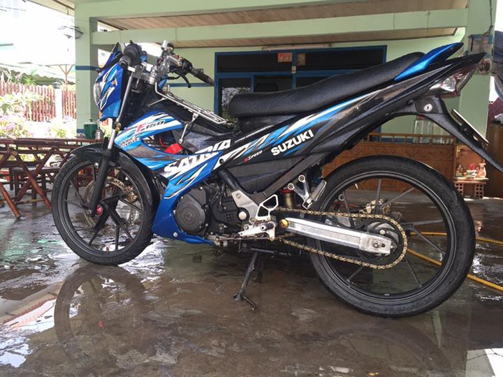 Suzuki raider thai do full satria F150 - 3
