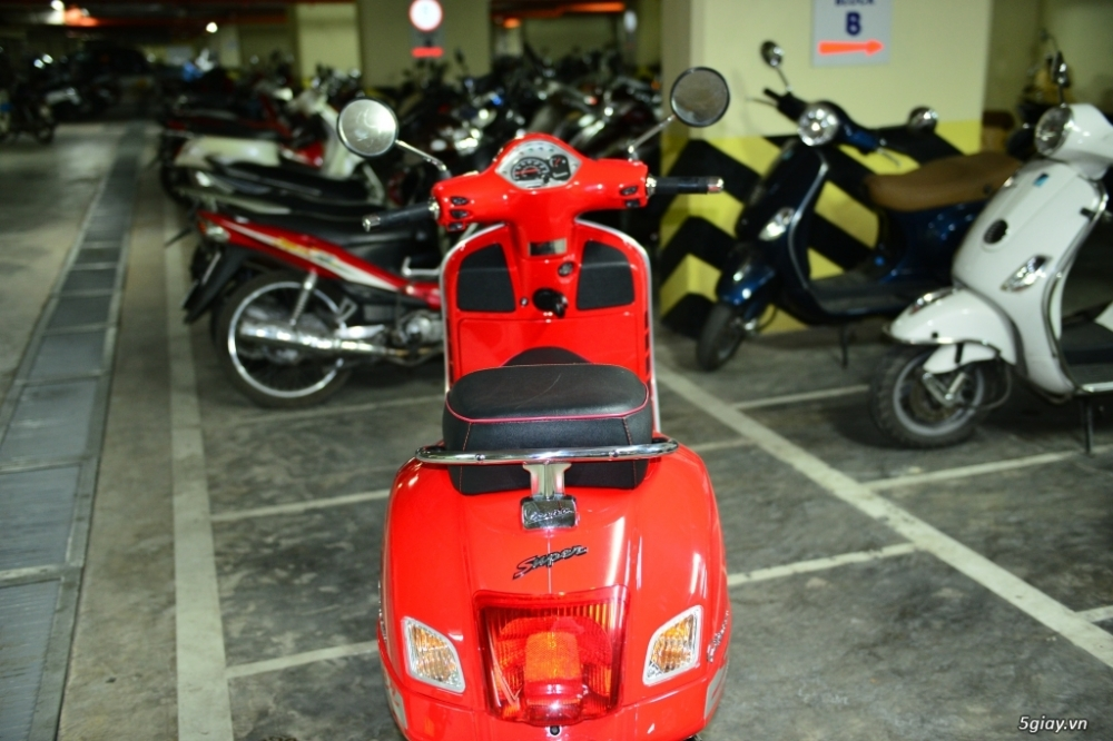 Vespa 125 Gts 3v ie do tuyet dep - 4