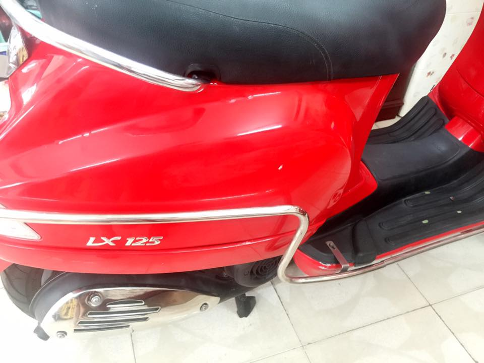 Vespa Lx 125 mau do chinh chu bstp 8 nut