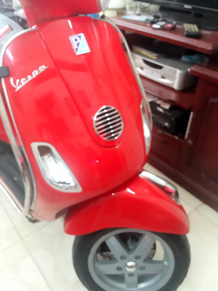 Vespa Lx 125 mau do chinh chu bstp 8 nut - 3